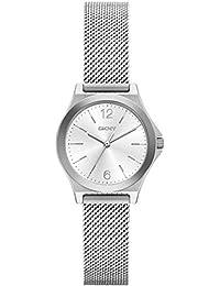 DKNY NY2488 PARSONS Uhr Damenuhr Edelstahl 50m Analog silber