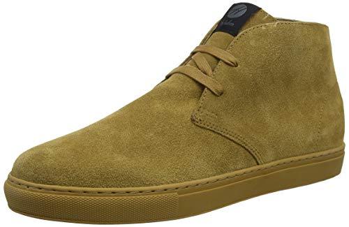 H by Hudson Herren Bangor Suede Chukka Boots, Beige (Camel 27), 41 EU