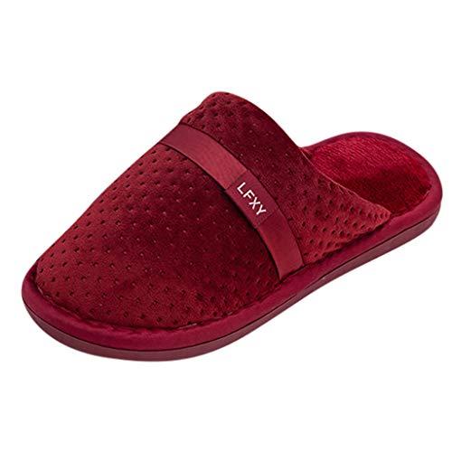 Luckycat Zapatillas Estar casa Mujer Zapatillas Estar