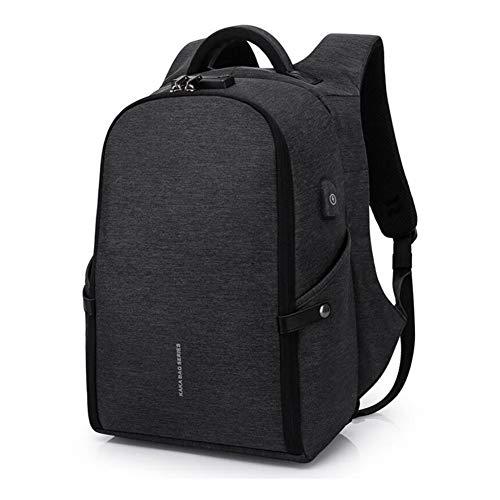 WYX Anti Theft Rucksack, Business Laptop Rucksack mit USB Charging Travel School Bag Notebook Rucksack für Outdoor-Work Student Travel,B