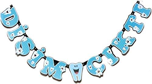 Blau Disim Cikti, erster Zahn, Party Banner