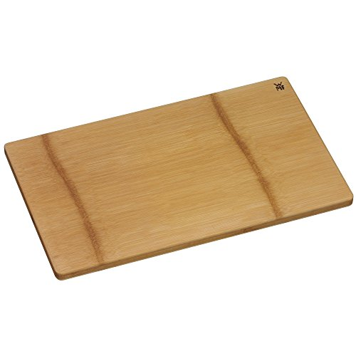 WMF Schneidebrett Bambus 45 x 27 cm rechteckig klingenschonend Holz natur Handwäsche