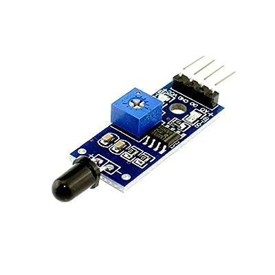 KTC CONS Labs IR Flame Detection Sensor Module(4 Pin) for Arduino