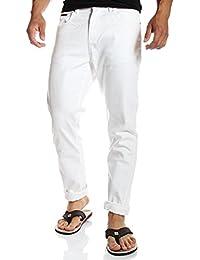 Tommy Hilfiger - Jeans Bradfield droit regular blanc