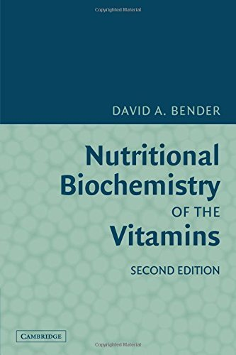 Nutritional Biochemistry of the Vitamins 2nd Edition by Bender, David A. (2009) Paperback par David A. Bender
