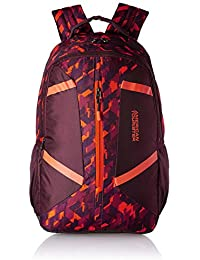 American Tourister Meso 30.5 Ltrs Burgundy Casual Backpack (Fi2 (0) 20 002)