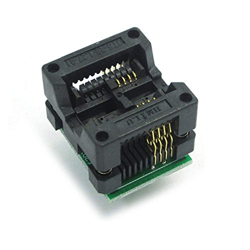 ARCELI 200-208mils SOP8 zu DIP8 IC Sockel Adapter Buchse OTS-20-1.27-01 für 25xx EEPROM Flash Ic-adapter