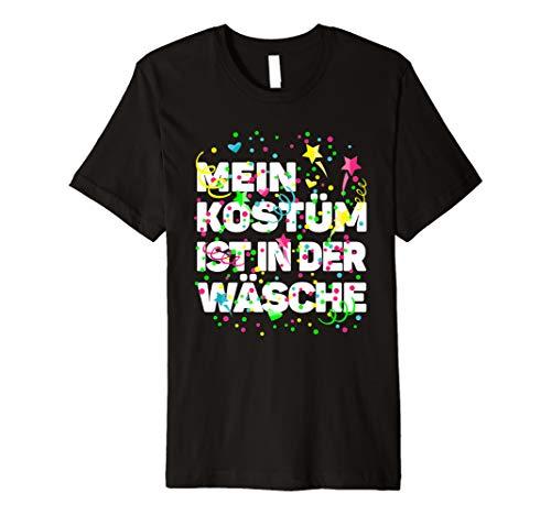 Karneval Kostüm Wäsche Fasching Shirt lustiger - Das Ist Mein Kostüm T