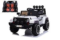 Bellissima Jeep Adventure 12V per bambiniFull Optional. Modello adatto anche sullo sferrato grazie alle sue sospensioni reali, questaJeep Adventureè dotata di2 motori potentimarcia avanti e indietro è un incontro tra sport e avventura. La Jeepè...