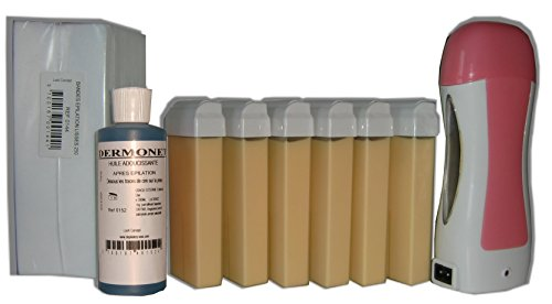 Storepil - Kit épilation Solor 6 x 100 ml NACREE - 250 bandes