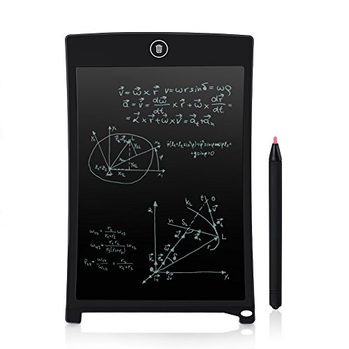 ghb-writing-tablet-85-inch-lcd-electronic-board-notepad-with-pen-for-memo-drawing-notice-black
