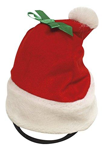 Croci C6098446 Cappellino da Babbo Natale per Cani