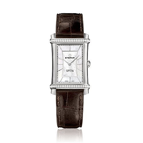 Eterna Damen-Armbanduhr Contessa Analog Quarz
