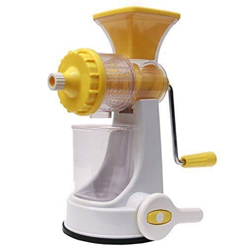KETSAAL Plastic Fruits and Vegetable Juicer with Steel Handle