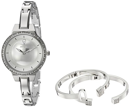 Invicta Womens Analog Quartz Watch with Stainless-Steel Strap 23328