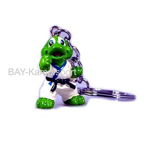 BAY® Schlüsselanhänger Kampfsport Drache Krokodil Schildkröte Karate Judo Taekwondo Tae Kwon do Kinder Kids Kickboxen Kick-Boxen Budo Kung Fu