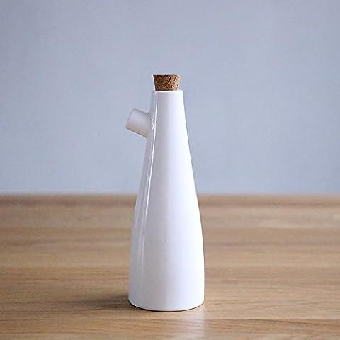 WEIAN roble cocina de porcelana con recipiente