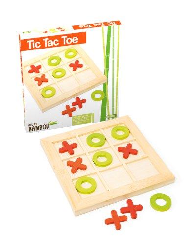 ujuraj66102Tic Tac Toe Spiel in Bambus ()