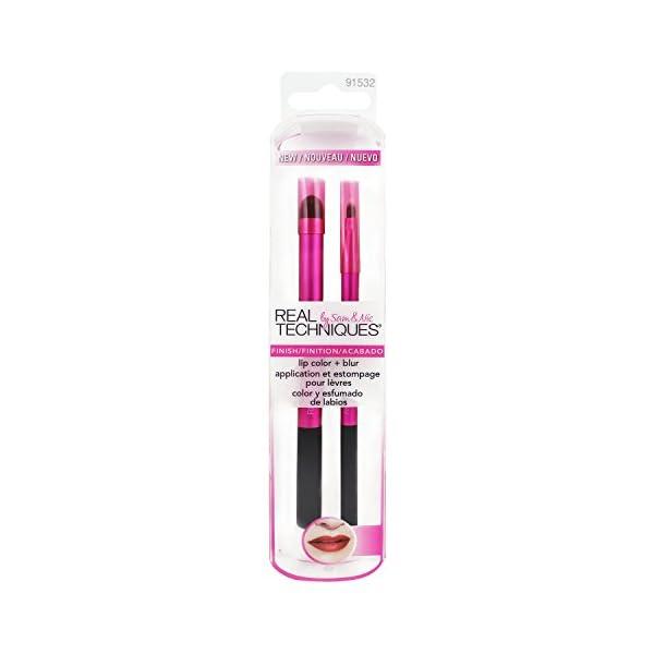 Real Techniques Lip Color y Blur – Brocha para Labios y Brocha para Difuminar