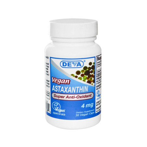 Deva - Vegan Astaxanthine Super Antioxidant 4 mg - 30 Capsules