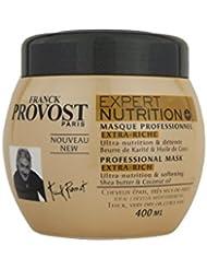 Franck Provost - Expert Nutrition+ Masque Professionnel Pour Cheveux Epais, Très Secs Ou Frisés - 400 ml - Lot de 2