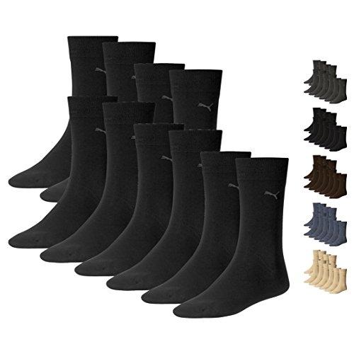PUMA Herren Classic Casual Business Socken 10er Pack