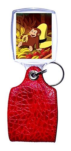 Schlüsselanhänger rot neugierig wie George