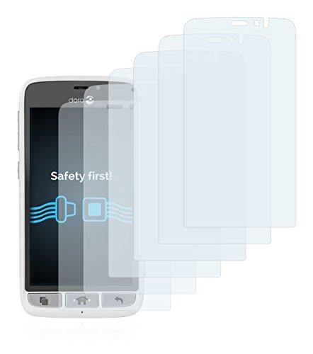 Savvies Schutzfolie für Doro 8031 [6er Pack] - klarer Displayschutz
