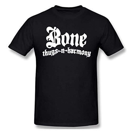 Bone Thugs N Harmony Menâ€s Popular Short Sleeve T-Shirts Black,Black,XX-Large (Bone Thugs N Harmony-shirt)