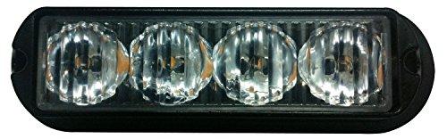 LED Voiture Car Avertissement 6modes flash 12V 4W de danger de sécurité d'urgence de la torche électrique Grille Du précipité de la plate-forme Strobe Light Lamp Bar KM202–4A personalizzare