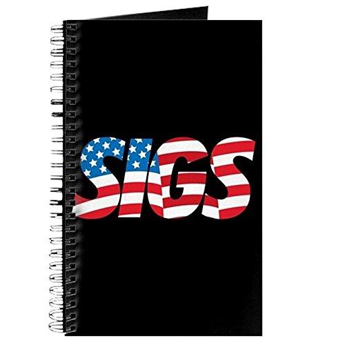 CafePress–Sigma Nu sigs–Spiralbindung Journal Notizbuch, persönliches Tagebuch, blanko (Sig Persönliche)