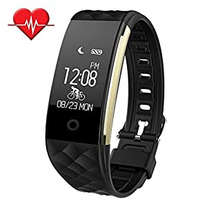 BIGFOX Fitness Tracker Smart Watch Sleep Heart Rate Monitor Activity Tracker Waterproof Pedometer Wristband