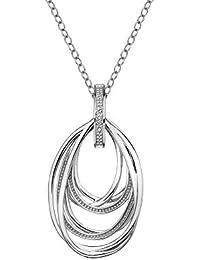 Amazon silver chains necklaces pendants jewellery hot diamonds chandelier vintage pendant on a chain of length 55cm aloadofball Choice Image