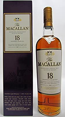 Macallan - Light Mahogany Sherry Oak - 1997 18 year old