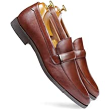 one8 Select by Virat Kohli Men's Brown Leather Formal Loafer