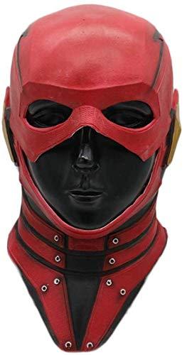Kinder Latex Flash Maske - Die Flash Wunder Held Cosplay Film