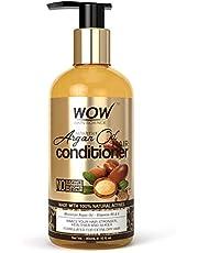 WOW Skin Science Moroccan Argan Oil Conditioner - No Sulphates, Parabens, Silicones, Salt & Colour - 300 mL