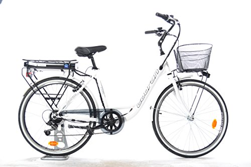 Cobran bike Bici elettrica a Litio New Easy (Bianco)