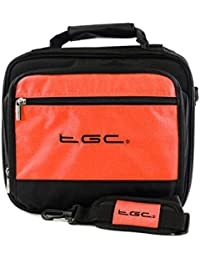 """ieGeek 9.5 """" portable DVD player Twin compartment Case Bag by TGC ®"""