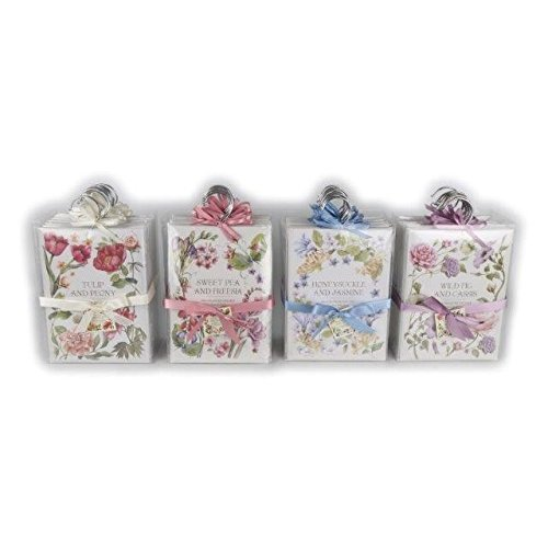 Grand 60g Garde-robe Parfum Cintre Floral parfumé Figue Sauvage ,Tulipe, Honeysuckle Ou Couleur Bonbon