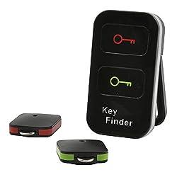 Schlüsselfinder 2er Set Keyfinder Funk Schlüssel Finder Schlüsselring Duo