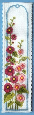 Textile Heritage Collection Cross Stitch Bookmark Kit -