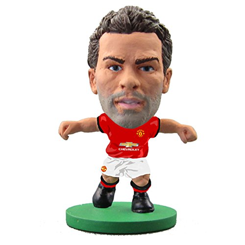 SoccerStarz SOC669 Man Utd Juan MATA 2018 Version Home Kit Figures