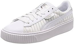 puma damen basket platform ep wn s sneaker