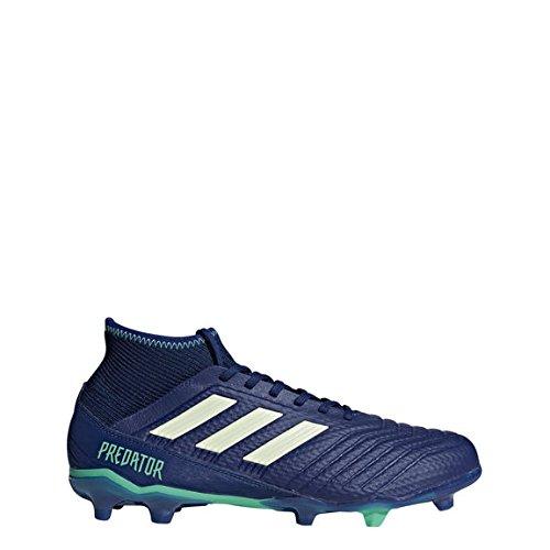 Adidas Fußballschuh Predator 18.3FG Ground Stollen Fußball Stiefel Erwachsener 40.7(Hartböden, Erwachsener, männlich, Sohle mit Dübel, Blau, Weiß, einfarbig) (Erwachsener Fußball-ausrüstung)