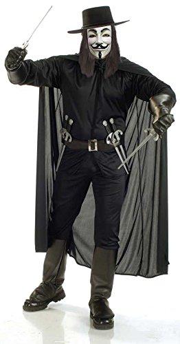 e Kostüm (V For Vendetta Perücke Und Hut)