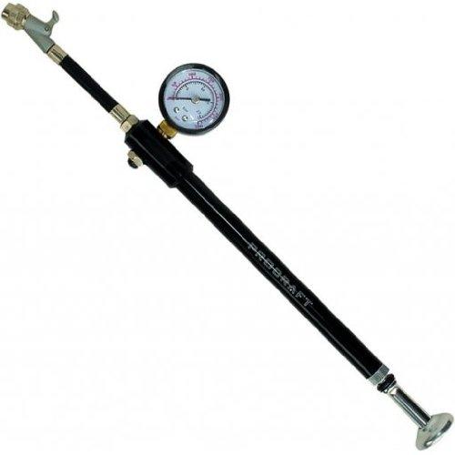 Procraft Pumpe Blow Up II Ventil mit Hebel Max 21 Bar, schwarz, 11331104