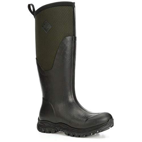 Muck Boots Arctic Sport II Tall Womens Wellies 39-40 EU Black/Moss Tall Wellies