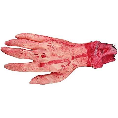 Disfraz de carnaval de Halloween Decoración Fiesta de Halloween Props látex Fake mano Scary sangrienta