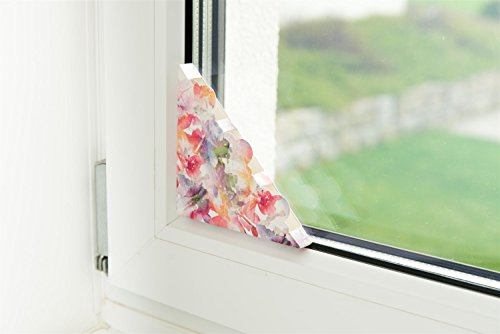*Fliegenfalle für Fenster – 4er Set Fliegenfänger ohne Gift*